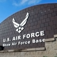 Shaw AFB Sign